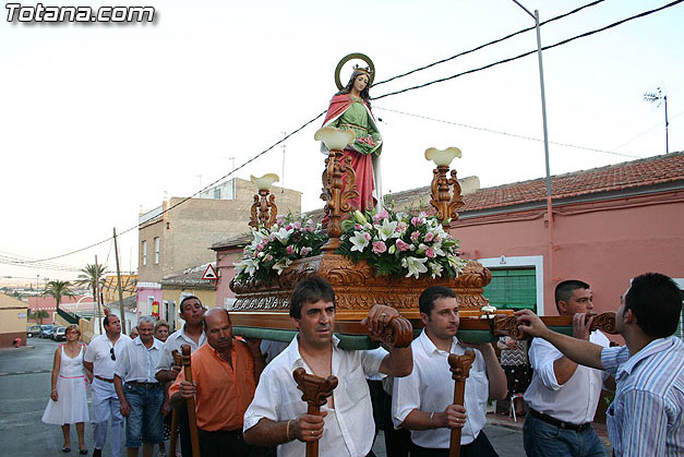 The neighborhood festivals was Alta, in honor of St. Elizabeth, starting on Friday July 3 with the chupinazo