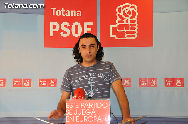 """Martínez Usero: """"if we have to make a second economic and financial plan Totana is because the former has failed"""""""