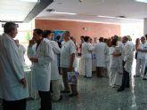 La Oficina de Congresos presenta en La Arrixaca la ciudad de Murcia como sede de reuniones médicas