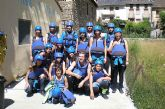 Los ganadores del programa Viaje Saludable disfrutan del deporte de aventura en Andorra