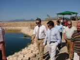 El Alcalde de Lorca inaugura el tratamiento terciario de la depuradora de aguas de La Paca