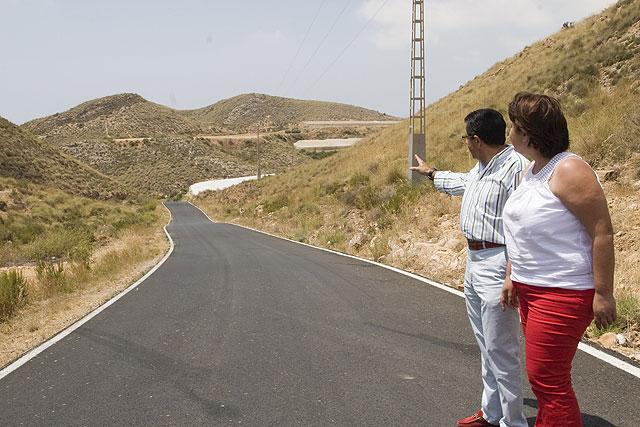 El camino de Balsicas experimeneta notables mejoras, Foto 1