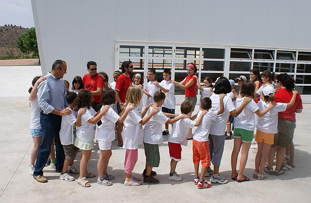 Puerto Lumbreras congrega a cerca de 50 jóvenes en el Campamento de Verano 'Cabezo de la Jara 2009' - 1, Foto 1