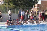 Los mazarroneros se tiran a la piscina