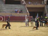 La Unidad Canina de la Polic�a Local de Totana obtiene el tercer premio en la categor�a de b�squeda de estupefacientes