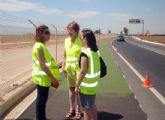 El carril bici entre Santiago de la Ribera y el Aeropuerto estará  listo en dos semanas