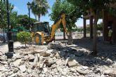 Comienzan las Obras de Remodelación de la Plaza Tierno Galván