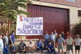 Los trabajadores de INMESA (Alcantarilla) llevan 4 meses sin cobrar, según denuncia UGT