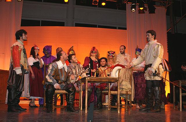 Puerto Lumbreras acoge la obra de teatro 'Don Juan Tenorio' - 1, Foto 1