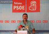 """PSOE: """"El informe del gobierno regional del PP es demoledor contra la presa de la Rambla de L�bor"""""""