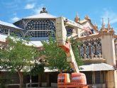 Arreglo de las cubiertas del Antiguo Mercado Público