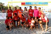 Se cierra con éxito la primera prueba del Campeonato de España de Fútbol Playa en los alcazares
