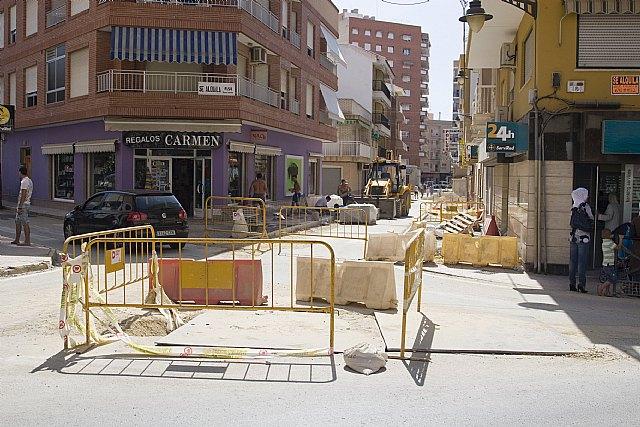 La Concejalía de Infraestructuras paraliza las obras del Puerto durante el verano, Foto 1
