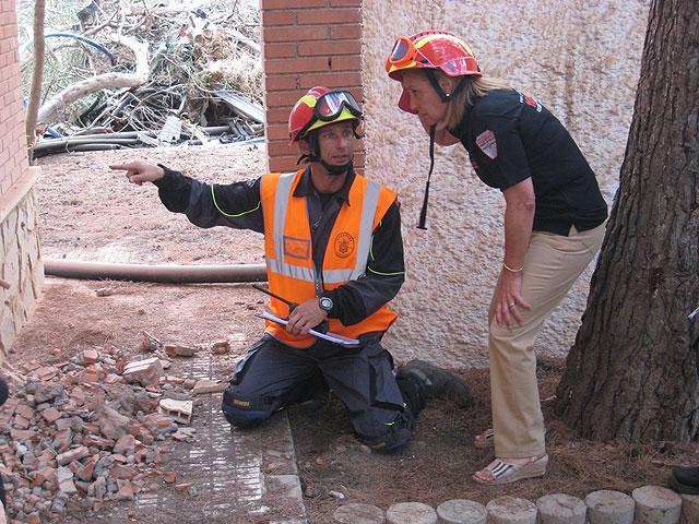 Más de 140 efectivos de emergencias participan en Cartagena en el simulacro de un terremoto - 2, Foto 2