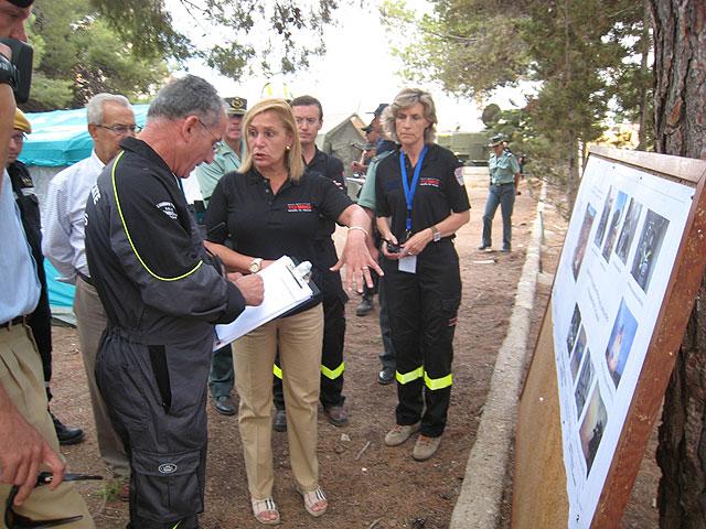 Más de 140 efectivos de emergencias participan en Cartagena en el simulacro de un terremoto - 3, Foto 3