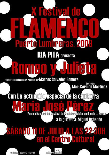Puerto Lumbreras acogerá  la X Edición del Festival Flamenco - 2, Foto 2