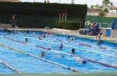 Las actividades municipales acuáticas de verano de Las Torres de Cotillas, en marcha