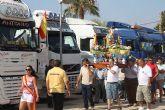 Los camioneros festejan el día de su patrón, San Cristóbal