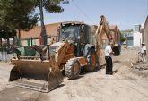 Puerto Lumbreras inicia las obras en los accesos al Colegio Público Purísima Concepción