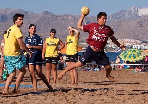 Cálida acogida del 'I Trofeo Balonmano Playa Bahía de Mazarrón', Foto 1