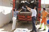 Blaya y Muñoz inician la destrucci�n del material decomisado por polic�a local