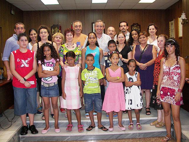 Recepción del alcalde a niños saharauis - 1, Foto 1