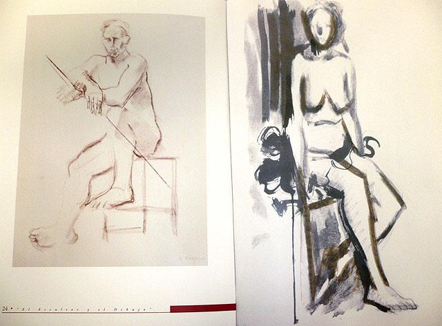 'Antonio Campillo. El escultor y el dibujo' rinde homenaje al artista murciano con una selección de dibujos y serigrafías, Foto 1