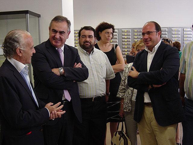El delegado del Gobierno visita la nueva oficina de Correos de Puerto Lumbreras - 1, Foto 1