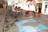 Los vecinos del barrio del Carmen torreño celebran sus fiestas en honor a su patrona