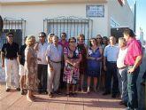 El barrio del Carmen dedica una calle al pescador Julián Izquierdo Cánovas, vecino e impulsor del barrio