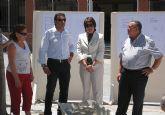 La directora general de Centros coloca la primera piedra de la ampliación de CP Río Segura