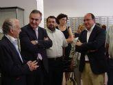 El delegado del Gobierno visita la nueva oficina de Correos de Puerto Lumbreras
