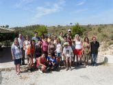 16 jóvenes de varios puntos del país participan en el Campo de Trabajo Medioambiental en el Parque Ecológico Vicente Blanes de Molina de Segura
