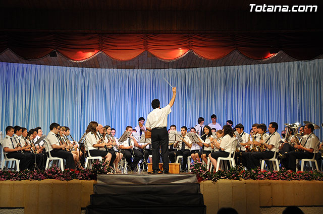 """The """"XII Festival of Bands"""" featured a performance of two musical groups of Totana and the Paretón, Foto 2"""