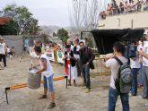 El Lanzamiento de Barril y la procesión de la talla del Santiago Apóstol tradicional siguen siendo los platos fuertes de las Fiestas de El Hurtado