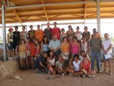 Jóvenes de Europa y Asia participan en el campo de trabajo de arqueología de Mula