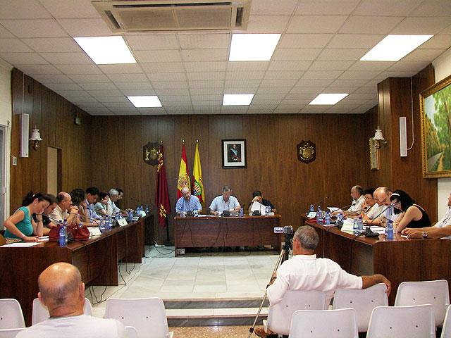 El pleno aprueba por mayoría el Plan de Saneamiento Económico y Financiero 2010-2015 del Ayuntamiento de Archena - 1, Foto 1