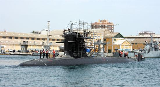 Vuelve al agua el segundo submarino Scorpene para Malasia - 1, Foto 1