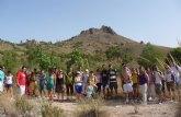 Los alumnos de la UCAM recorren la historia y la geografía de Cieza