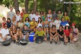 Un total de 25 jóvenes de distintas nacionalidades realizan labores de conservación del entorno natural de Sierra Espuña