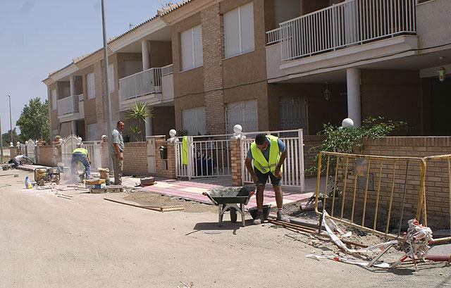 El Ayuntamiento inicia la segunda fase de las obras de remodelación y mejora de las calles de la pedanía El Esparragal - 1, Foto 1