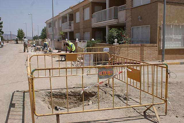 El Ayuntamiento inicia la segunda fase de las obras de remodelación y mejora de las calles de la pedanía El Esparragal - 2, Foto 2