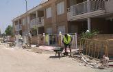 El Ayuntamiento inicia la segunda fase de las obras de remodelación y mejora de las calles de la pedanía El Esparragal