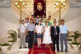 Diplomas para los alumnos del curso de Montador de Andamios