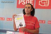 """Martínez Usero: """"Andreo proclama la muerte del colegio de La Cruz, pero cuando era candidato a la alcaldía prometió lo contrario"""""""