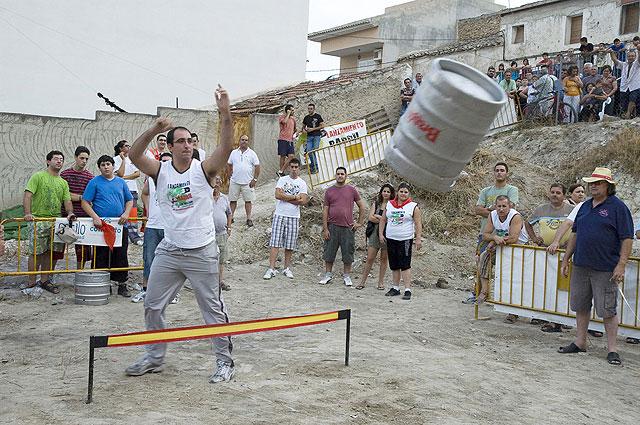 Nuevos récords en el Concurso de Lanzamiento de Barril de El Hurtado - 1, Foto 1