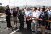 El delegado del Gobierno inaugura la glorieta que mejora el enlace de Santa Catalina en la Autovía A-30