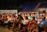 """La obra """"La nevera, el cuchillo y el mechero"""" abrió anoche en el auditorio """"Marcos Ortiz"""" la semana del teatro de Totana"""