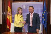 La ministra de Igualdad y el consejero de Política Social, Mujer e Inmigración de Murcia condenan el crimen machista de Cartagena