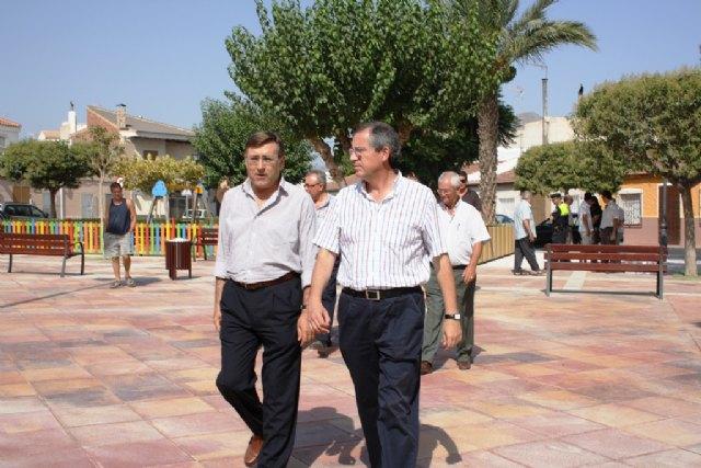 Finalizan las obras de remodelación del Jardín de la Providencia en Archena - 1, Foto 1